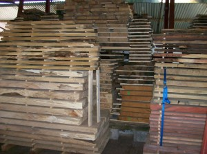 Air Dried Timbers